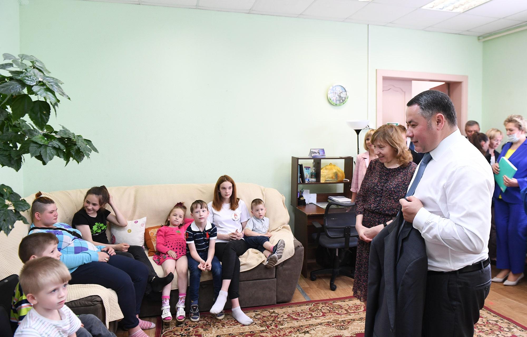 В детском доме в Тверской области могут появиться спортзал и бассейн