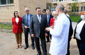 В Кимрах Тверской области готовятся к строительству двух детских поликлиник