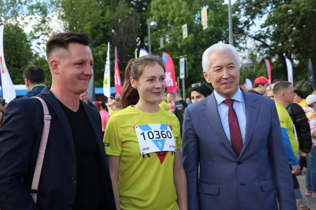 Больше тысячи жителей Верхневолжья стартовали в полумарафоне «Забег.РФ»