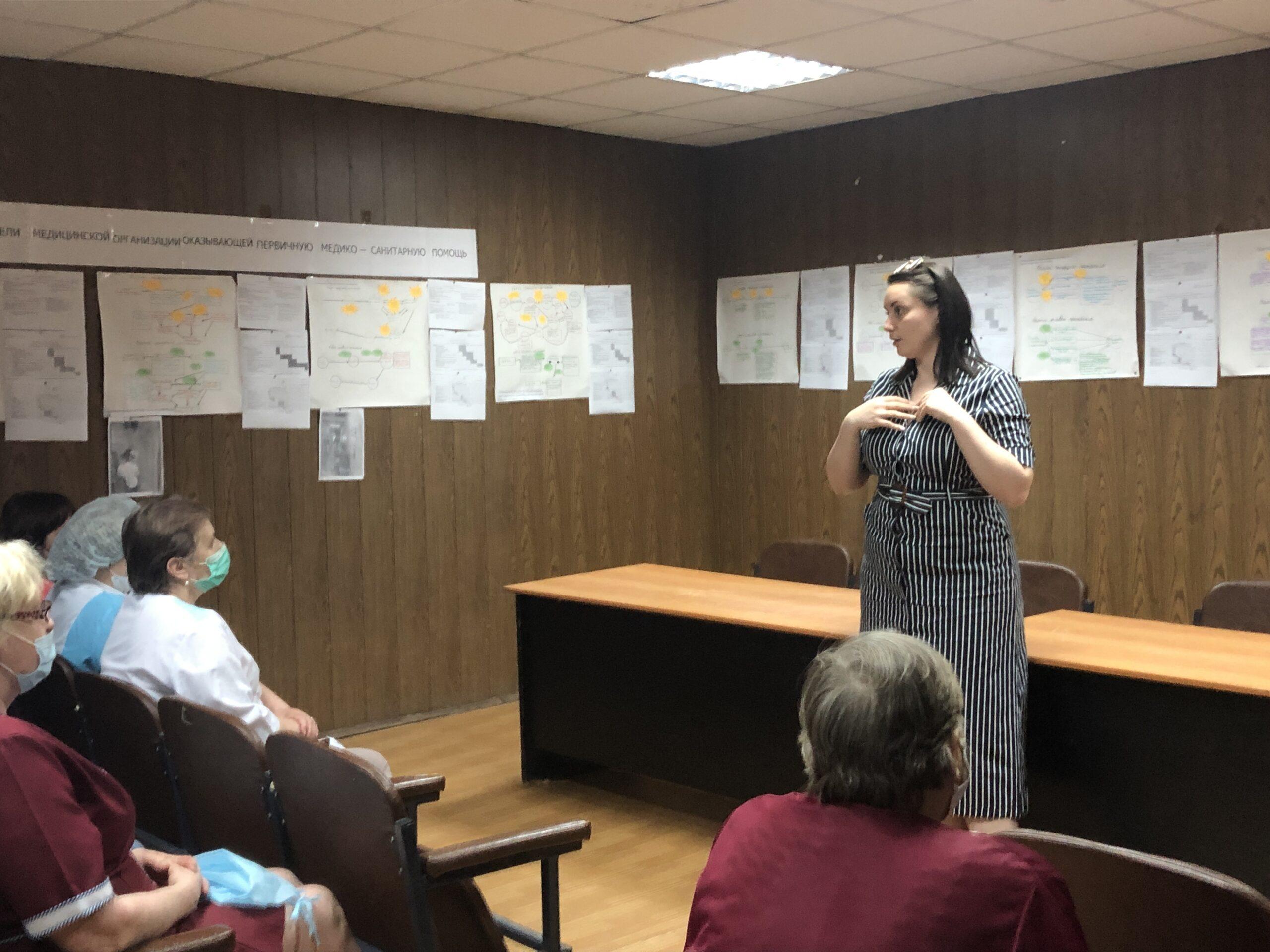 Юлия Саранова встретилась с бежецкой общественностью и врачами