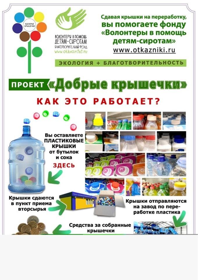 Жители Твери принесли в почтовые отделения больше 120 кг «добрых крышечек»