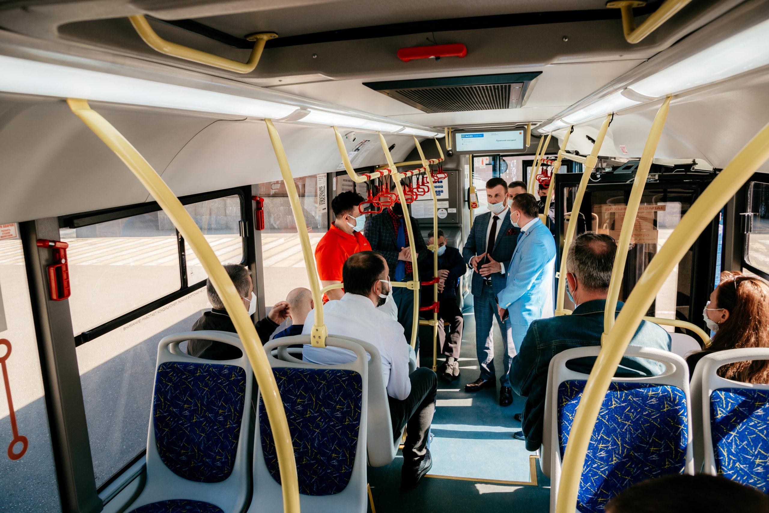 Турки заинтересовались синими автобусами и приехали в Тверь