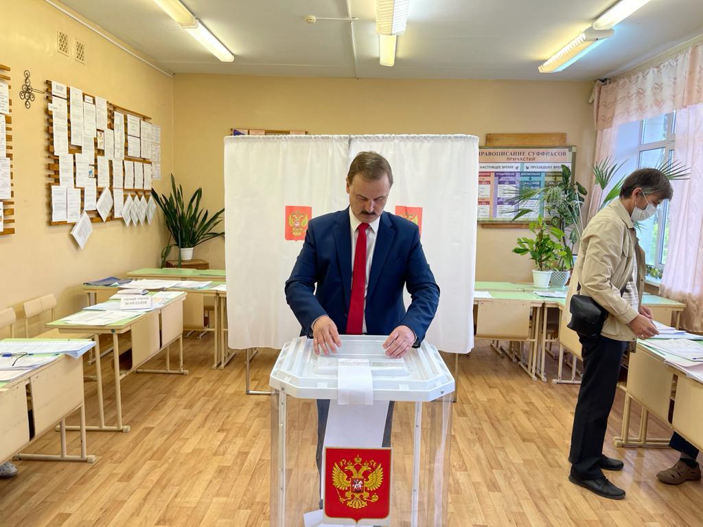Сергей Веремеенко принял участие в предварительном голосовании «Единой России»