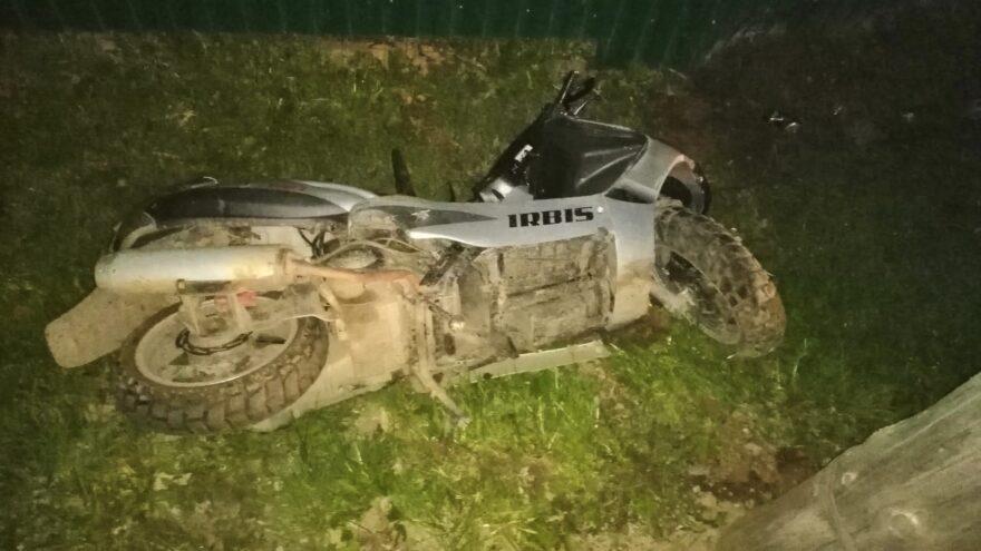 В Тверской области в аварии погиб молодой водитель скутера
