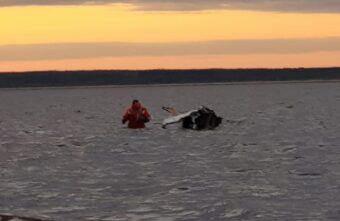 При крушении вертолёта в Архангельской области пропал тверской депутат