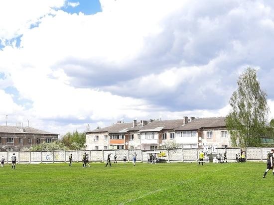 «Витязи» из Оленино победили в домашнем мачте на чемпионате по футболу
