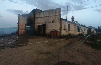 В Тверской области сгорела ферма, коровы и телята погибли