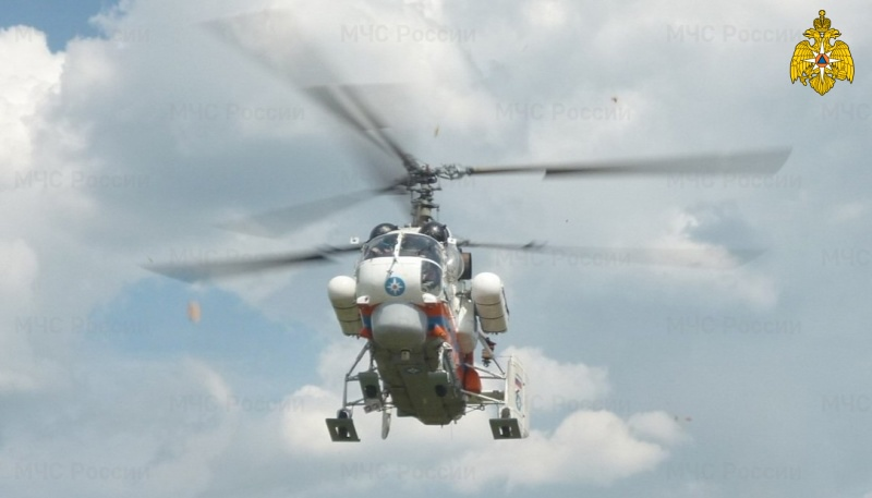 Два часа потребовалось вертолету, чтобы доставить тяжелобольного пациента в Тверь