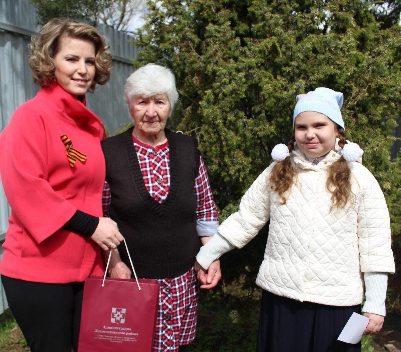 90-летнюю жительницу Лихославльского района поздравили в Тверской области