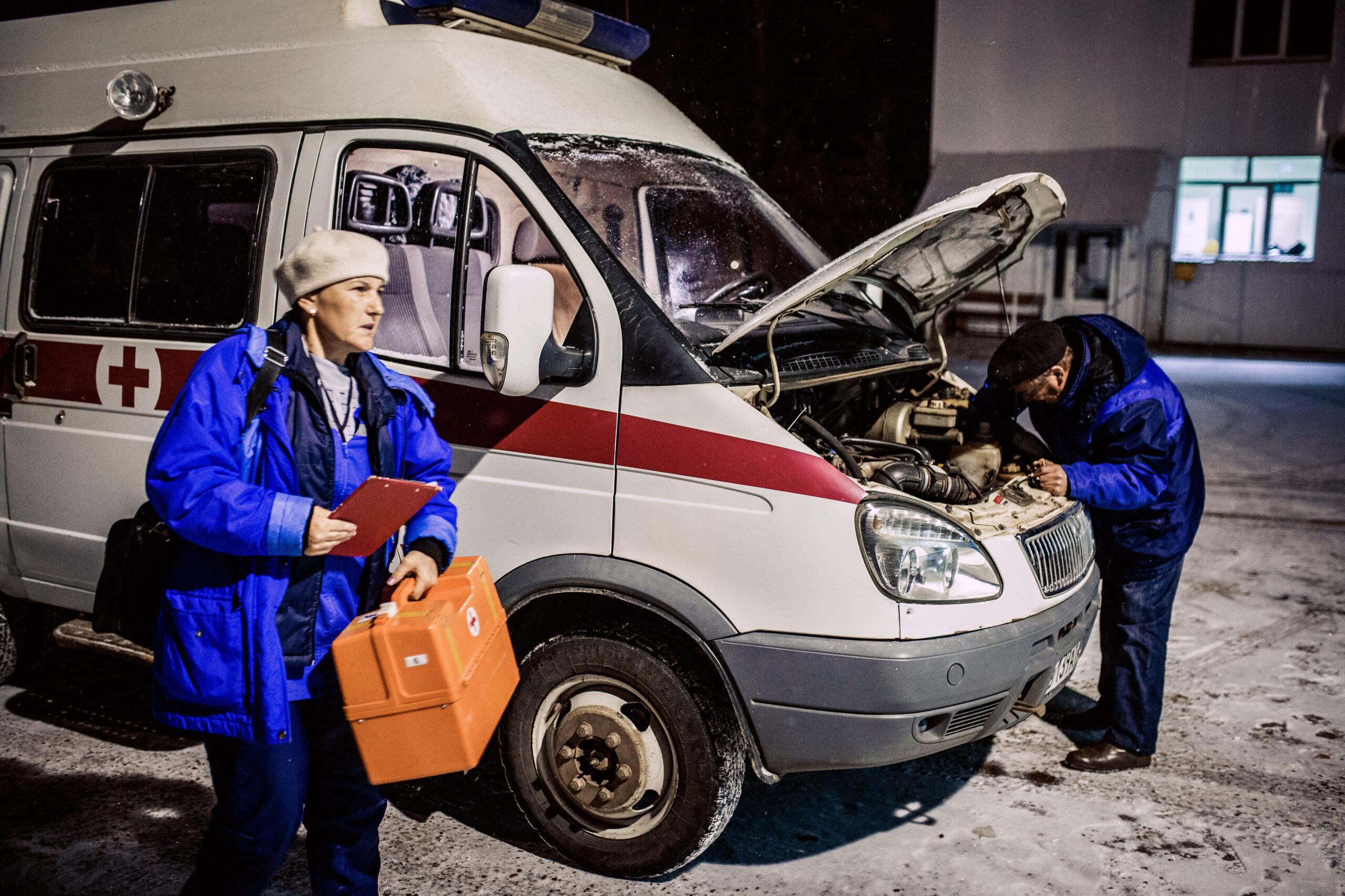 Фельдшер получила по лицу от пьяного жителя Тверской области