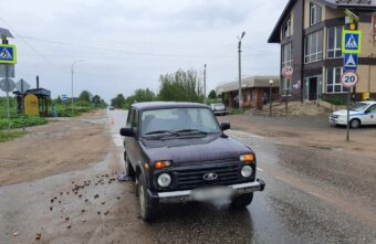 72-летний водитель не заметил и сбил женщину в Тверской области