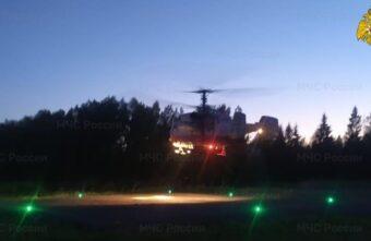 Ребёнка в тяжёлом состоянии доставили на вертолёте в Тверь