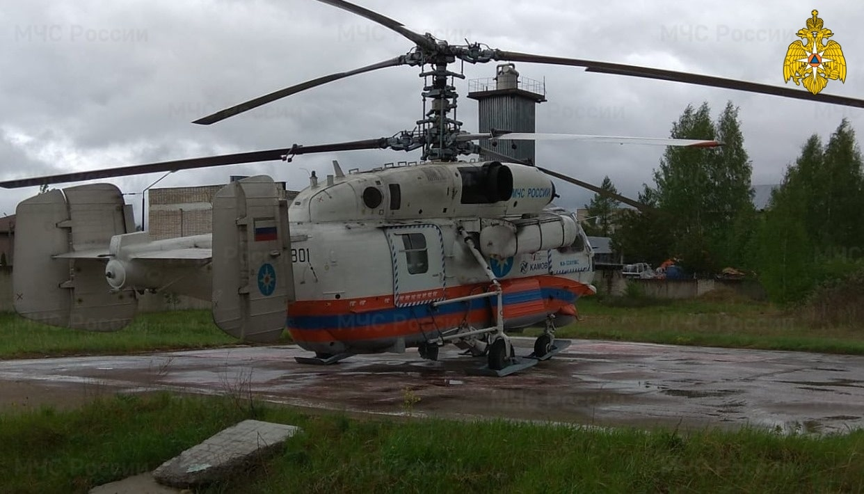 Жителя Тверской области в тяжёлом состоянии эвакуировали на вертолёте в ОКБ