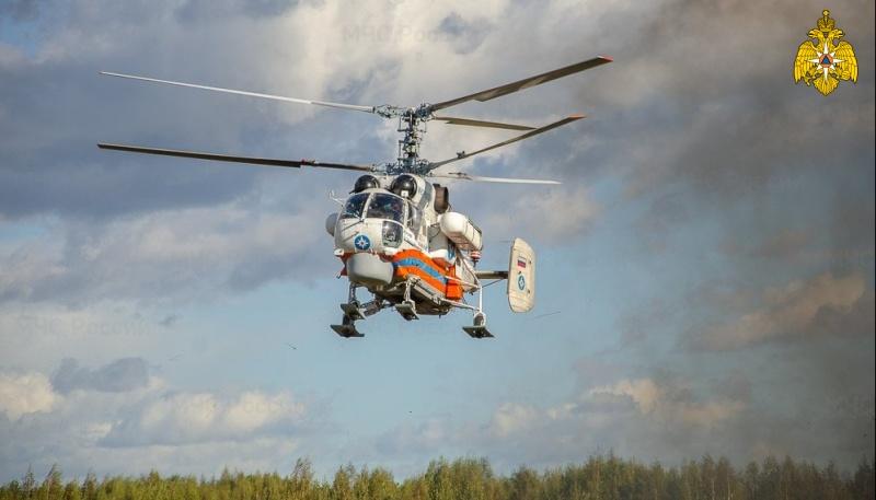 Санитарный вертолёт экстренно доставил в Тверь пациента из Западной Двины