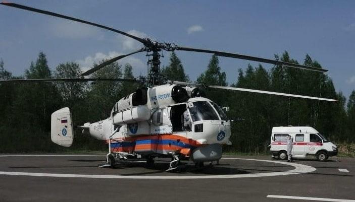 Женщину в тяжёлом состоянии экстренно доставили в Тверь на вертолёте