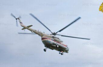 Жителя Тверской области экстренно доставили в ОКБ на вертолёте