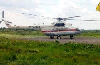 Жителя Тверской области в тяжёлом состоянии доставили в ОКБ по воздуху