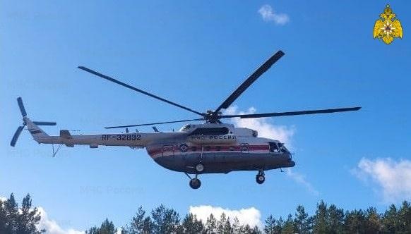 В Тверской области пациента экстренно эвакуировали вертолётом санавиации