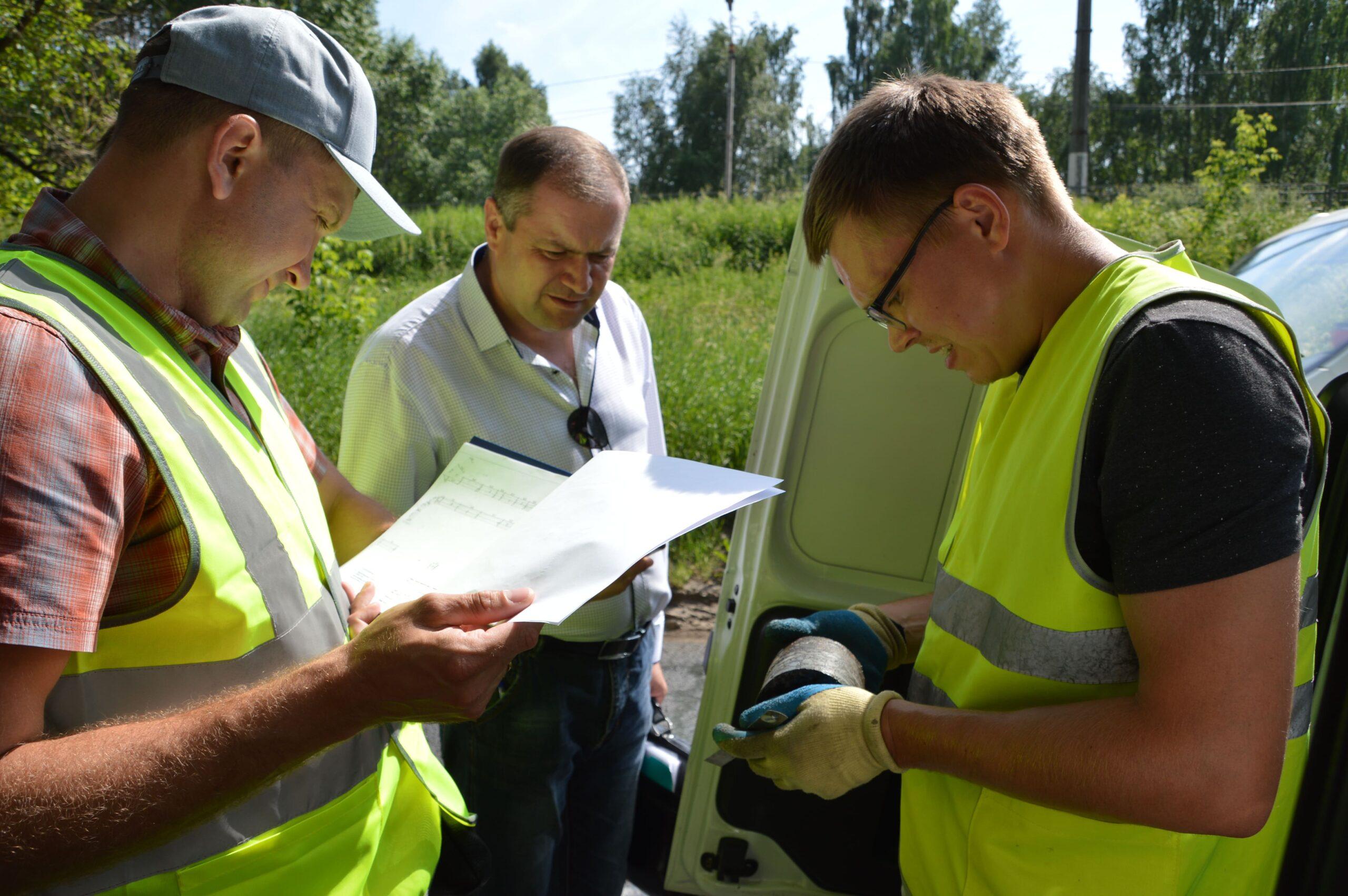 В Твери начали проверять качество отремонтированных дорог