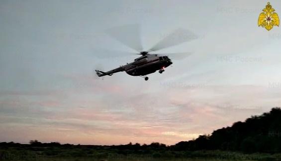 Для оказания экстренной помощи в Тверь больного доставили вертолетом