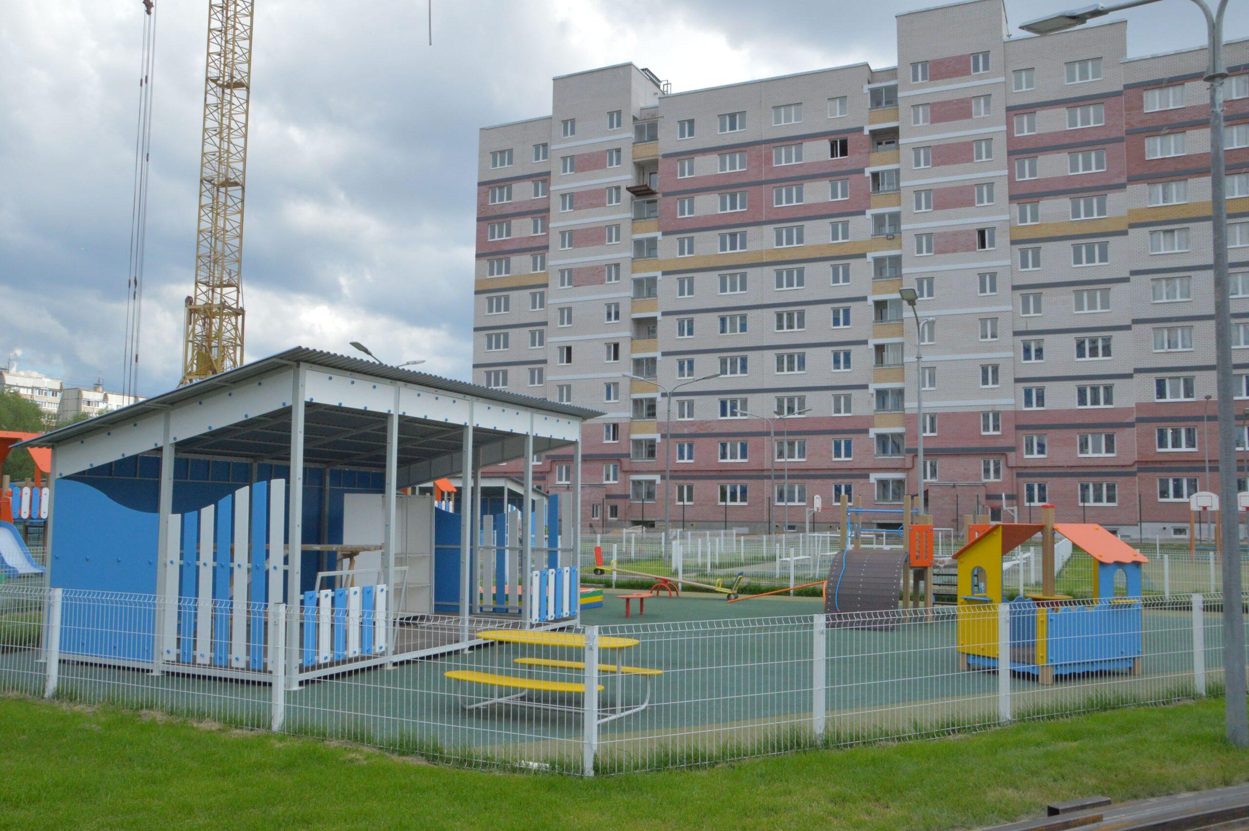 В Твери одновременно строят три детских сада