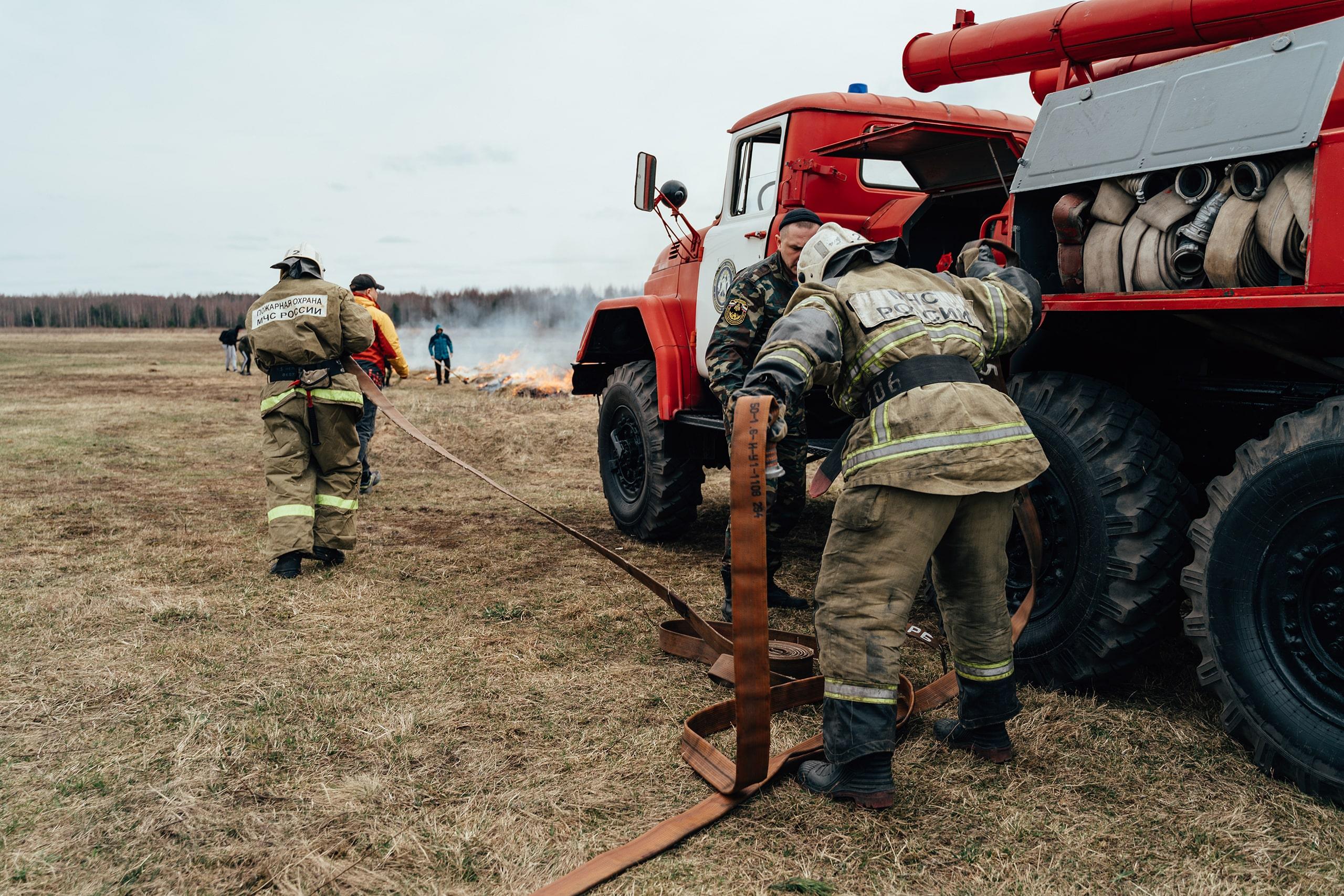 Три дня в Тверской области будет высокая пожарная опасность
