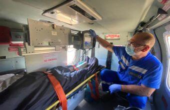 Санавиация экстренно доставила  в Тверь пациента с острым инфарктом миокарда