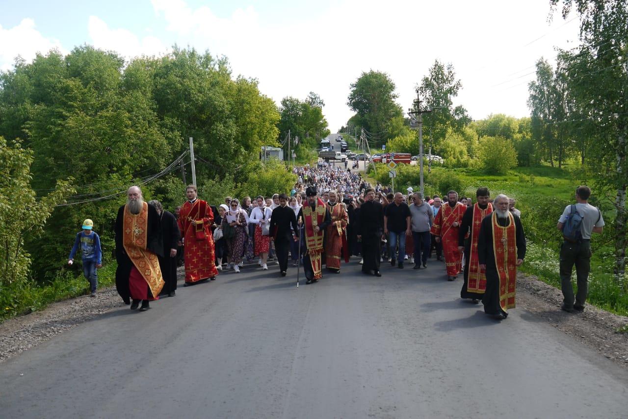 Делегация из Лихославля приняла участия в макарьевских торжествах