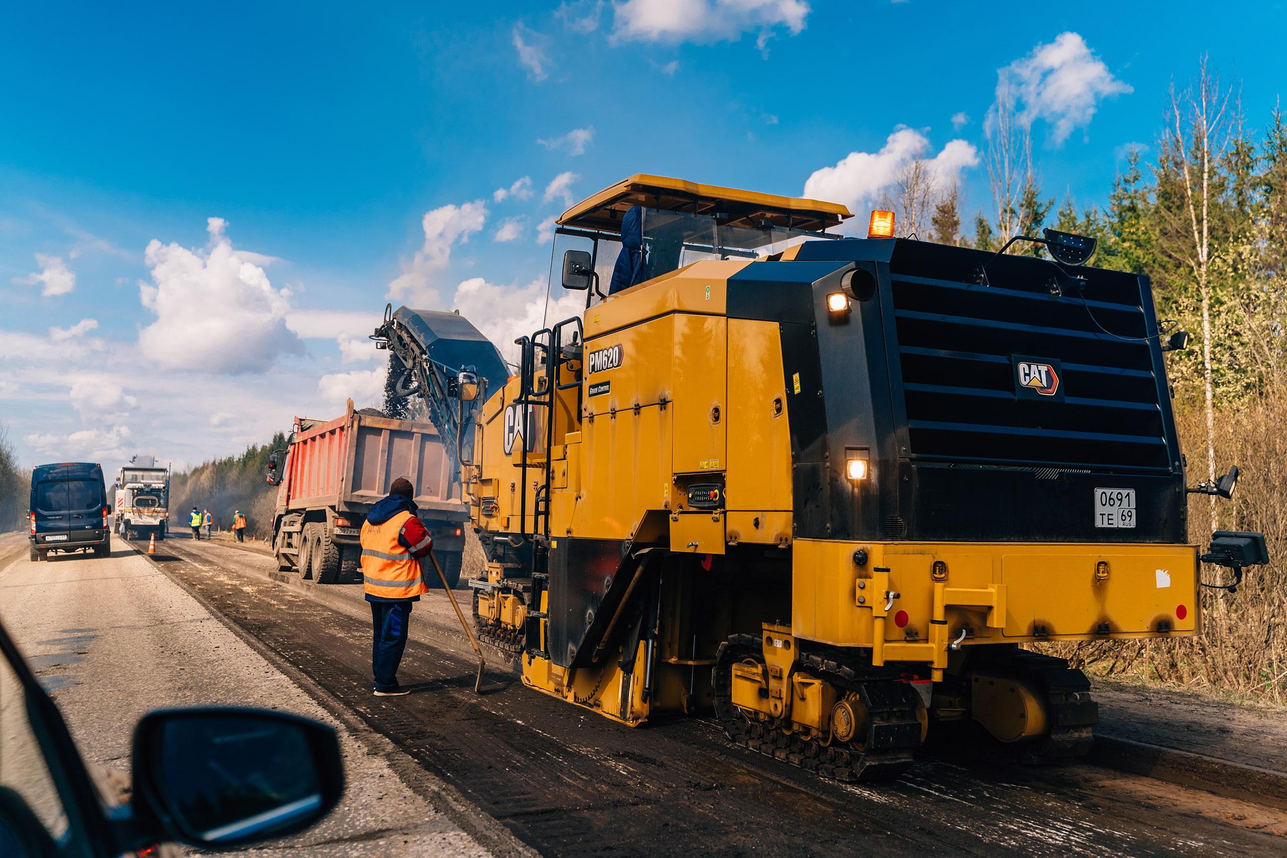 Больше 26 километров автодороги Рамешки-Максатиха отремонтируют в Тверской области в 2021 году