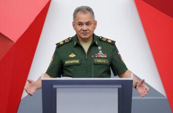 Глава Минобороны Сергей Шойгу приехал в Тверскую область
