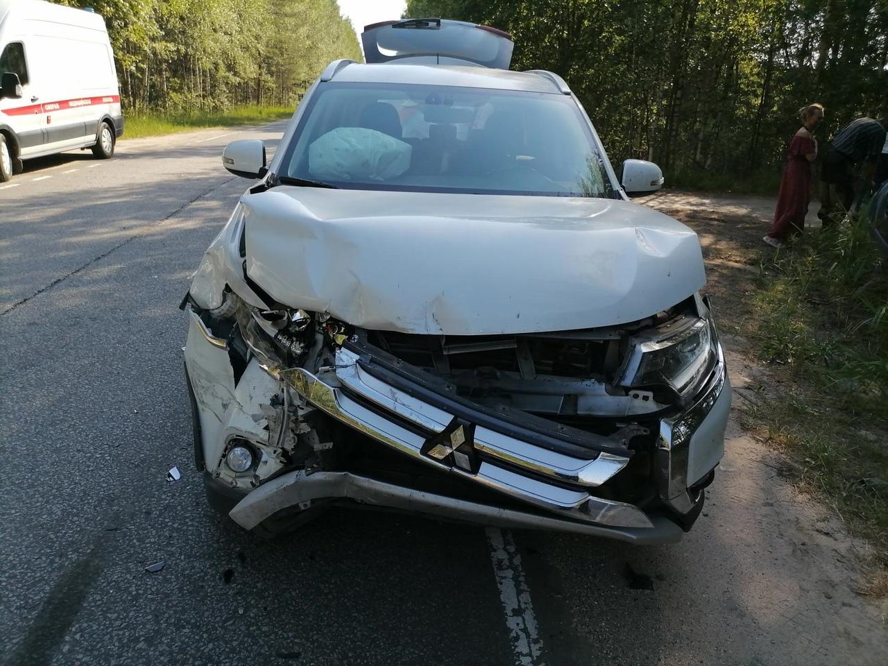 70-летний пассажир пострадал в столкновении иномарок в Тверской области