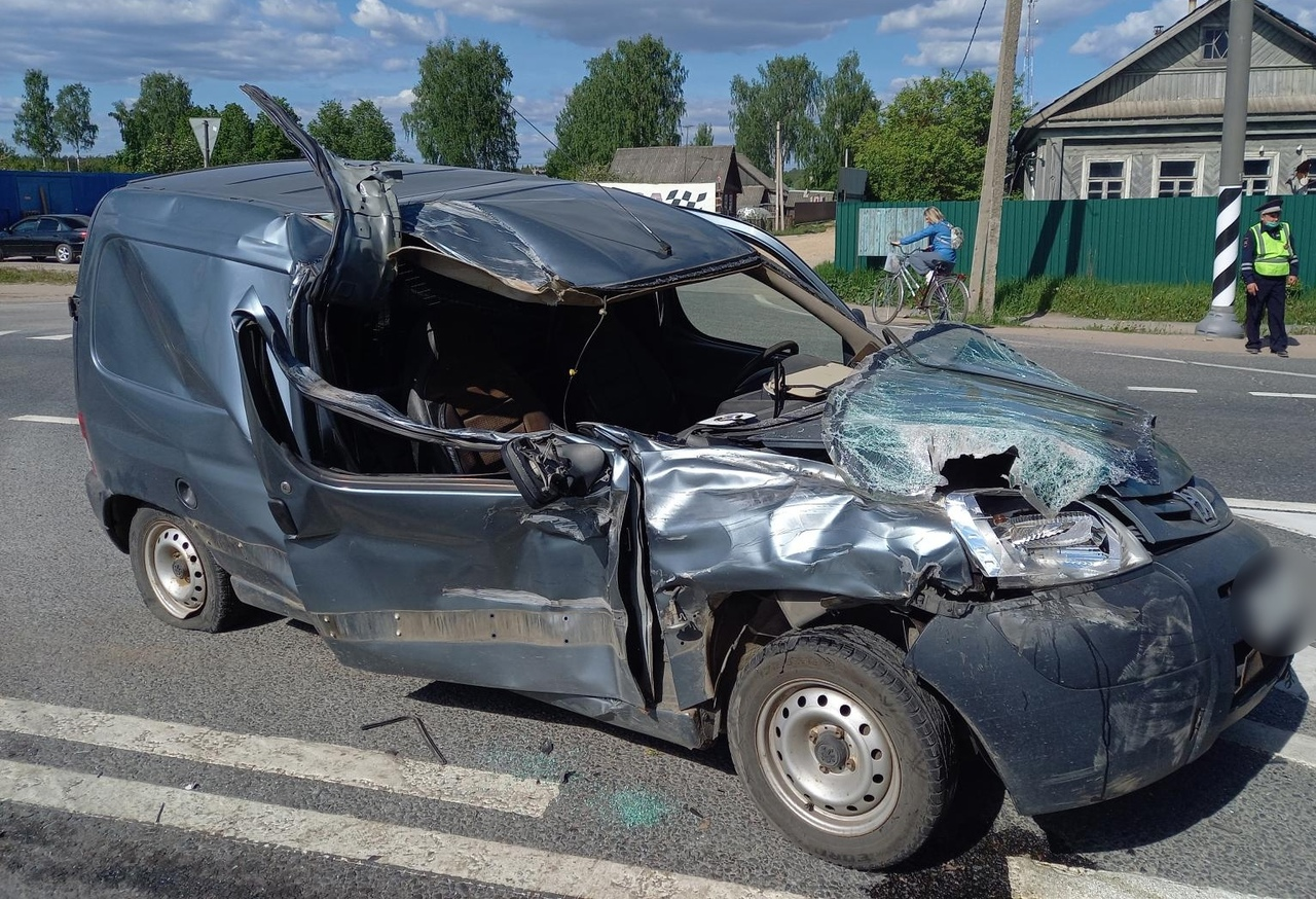 Пожилая женщина погибла после ДТП с пьяным водителем в Тверской области