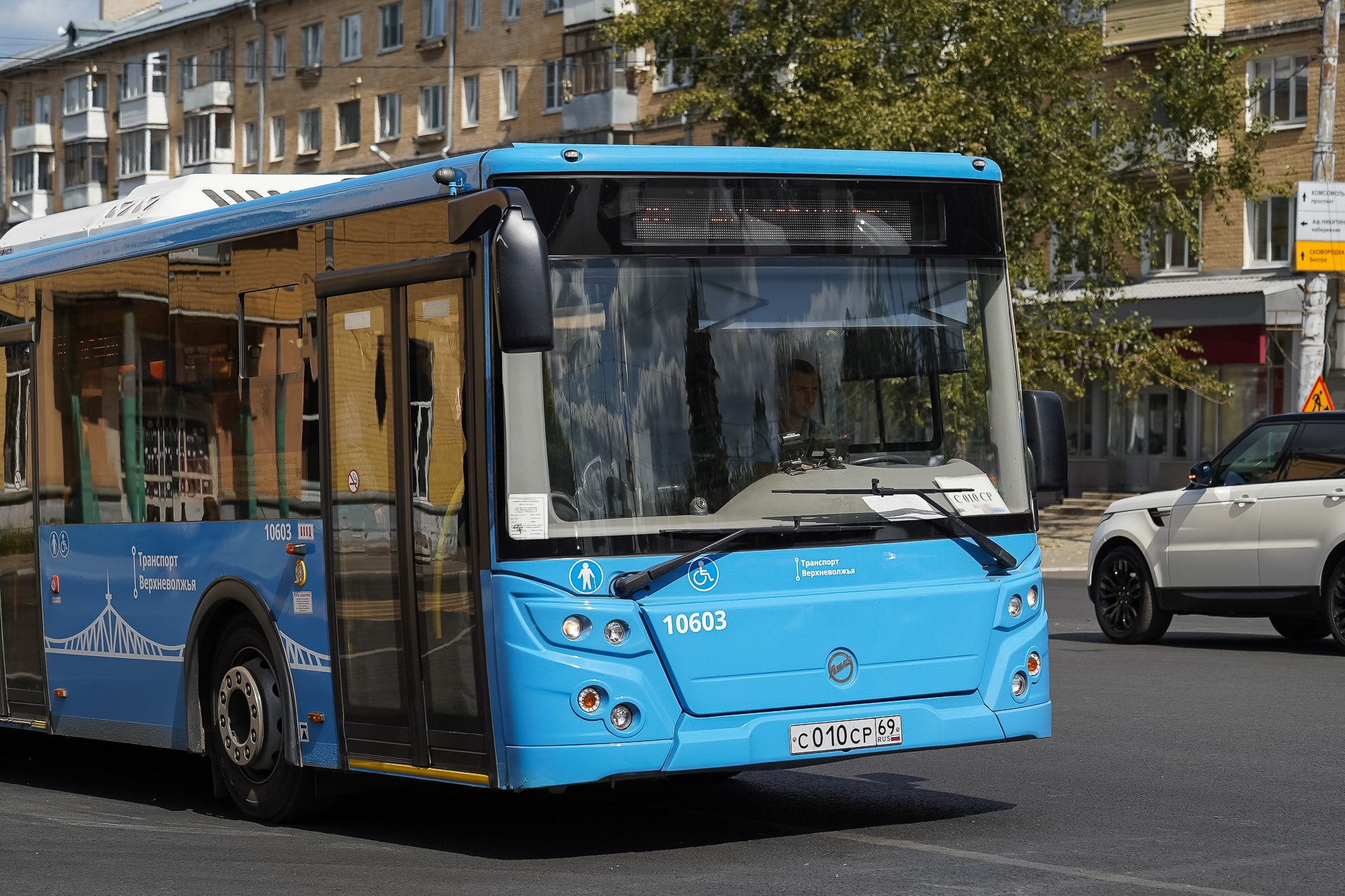 Маршрут пригородного автобуса №126 в Тверской области изменится с 1 июля