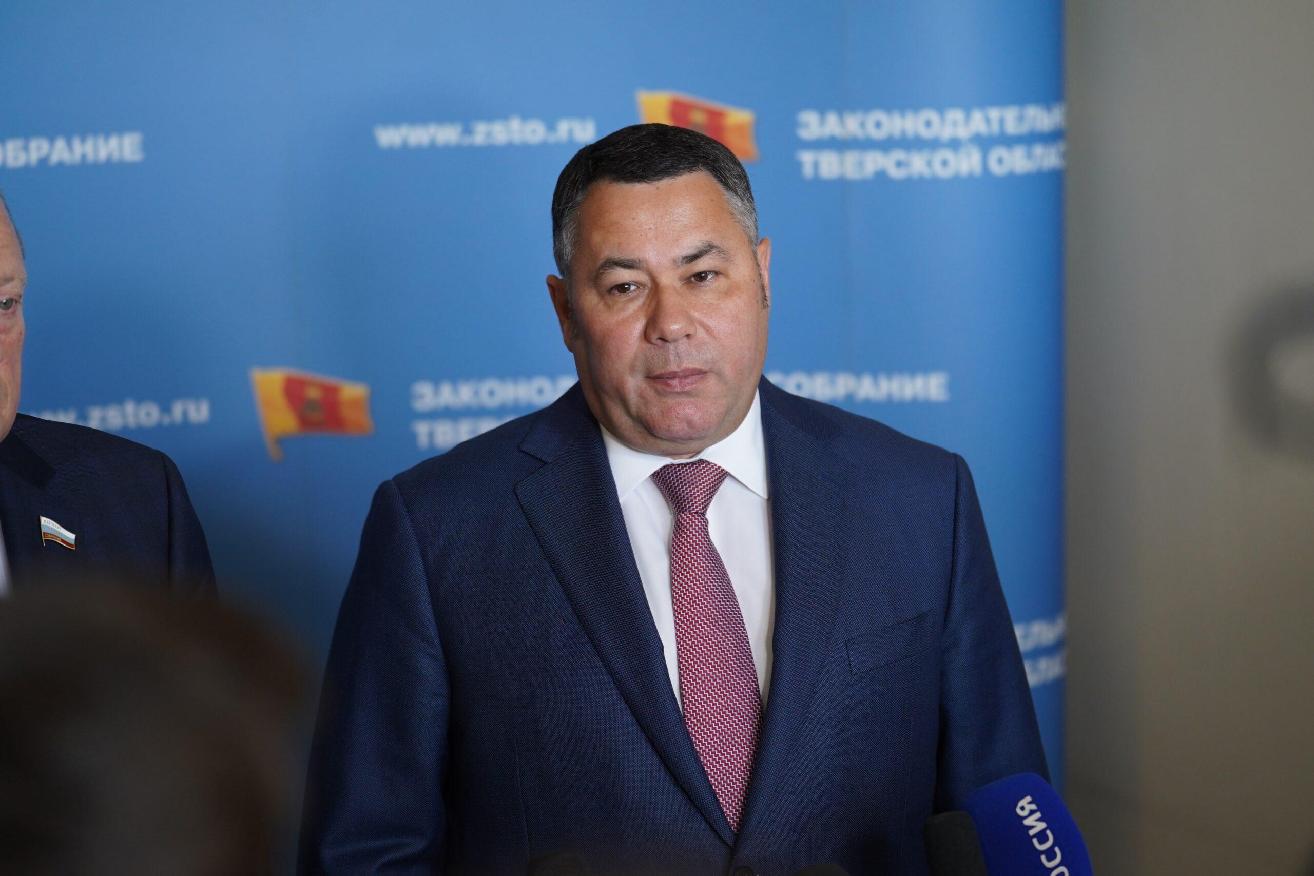 Игорь Руденя рассказал, с чем Тверская область завершила первый пандемийный год