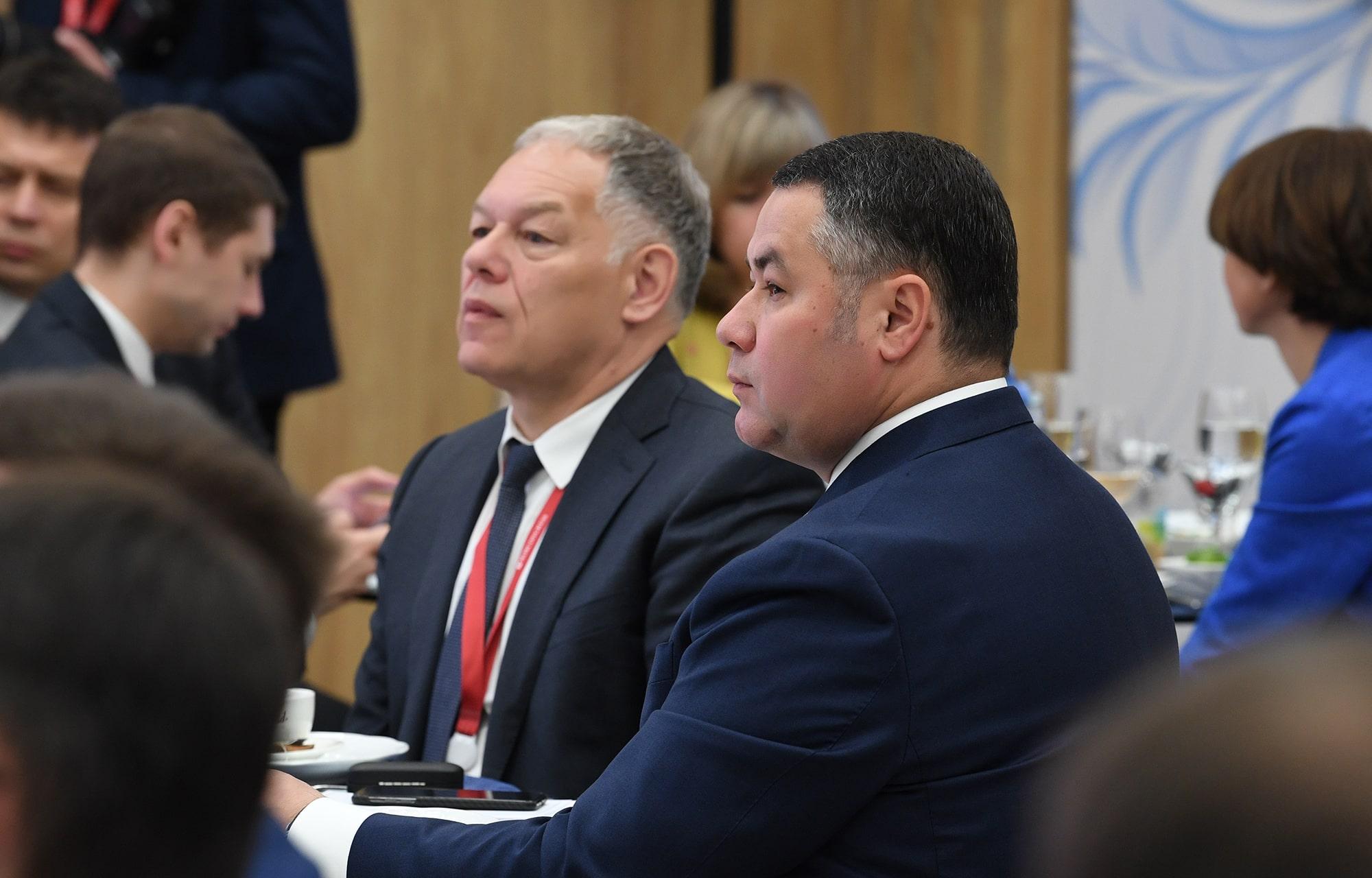 ПМЭФ-2021: Игорь Руденя представил проект развития транспортной инфраструктуры Тверской области
