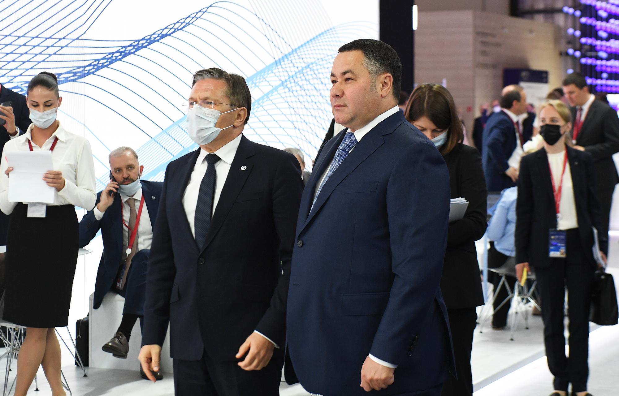 ПМЭФ-2021: Тверская область и Росатом создадут территорию опережающего развития