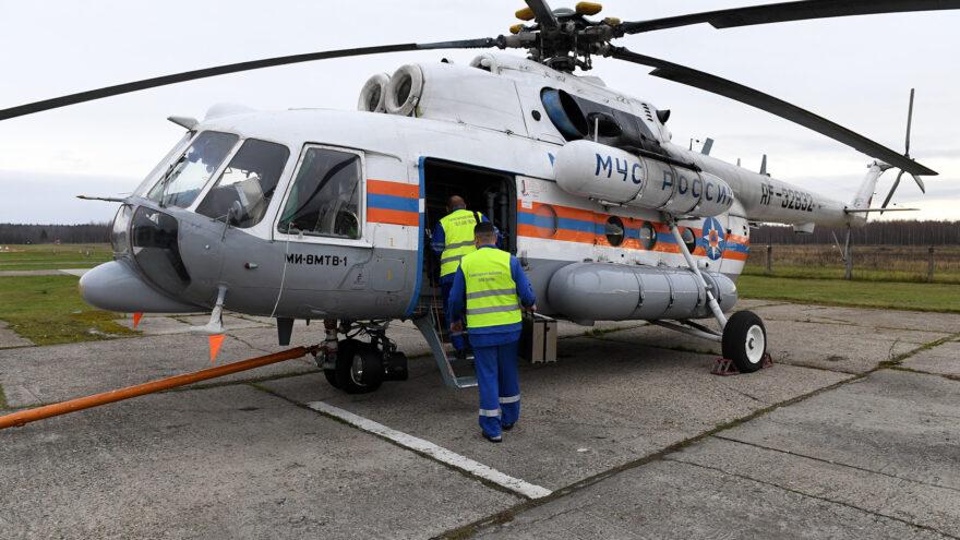 Санитарный вертолёт экстренно доставил ребёнка в областную больницу в Твери