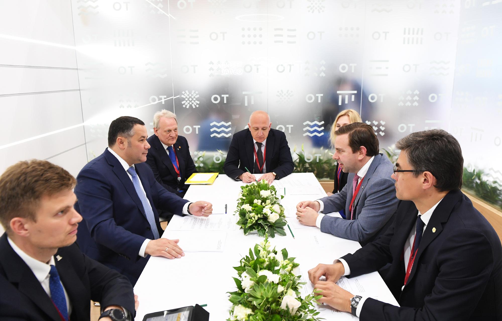 ПМЭФ-2021: Компания «Шелл» будет дальше развивать свои проекты в Тверской области