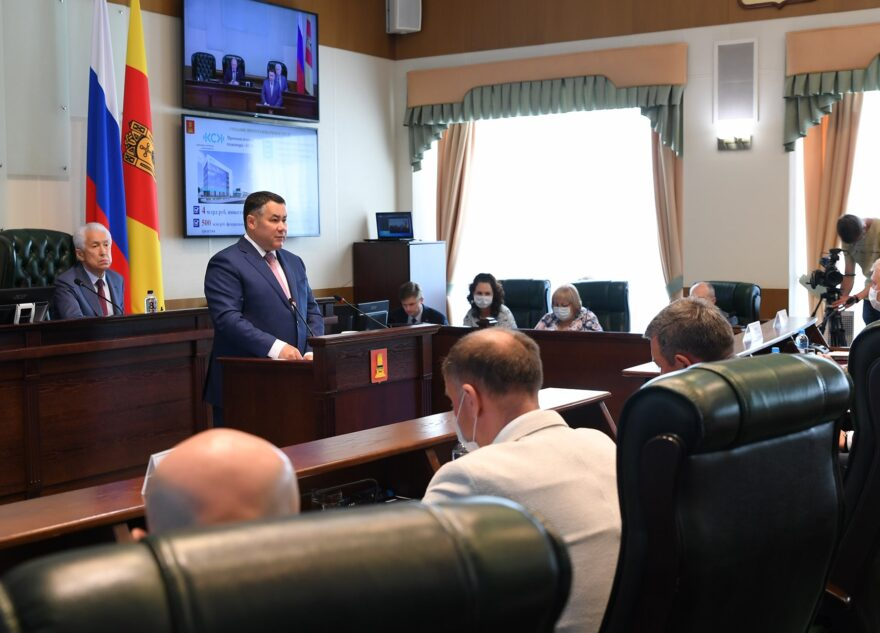 Игорь Руденя: проекты «Чистая вода» и «Оздоровление Волги» позволят существенно повысить качество жизни населения Тверской области
