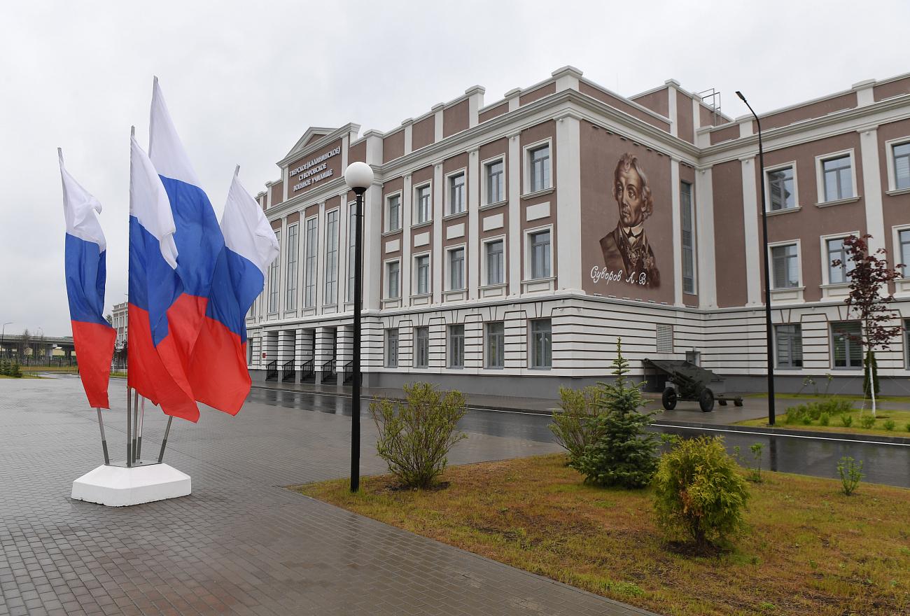 Сергей Шойгу и Игорь Руденя побывали в гостях у тверских суворовцев