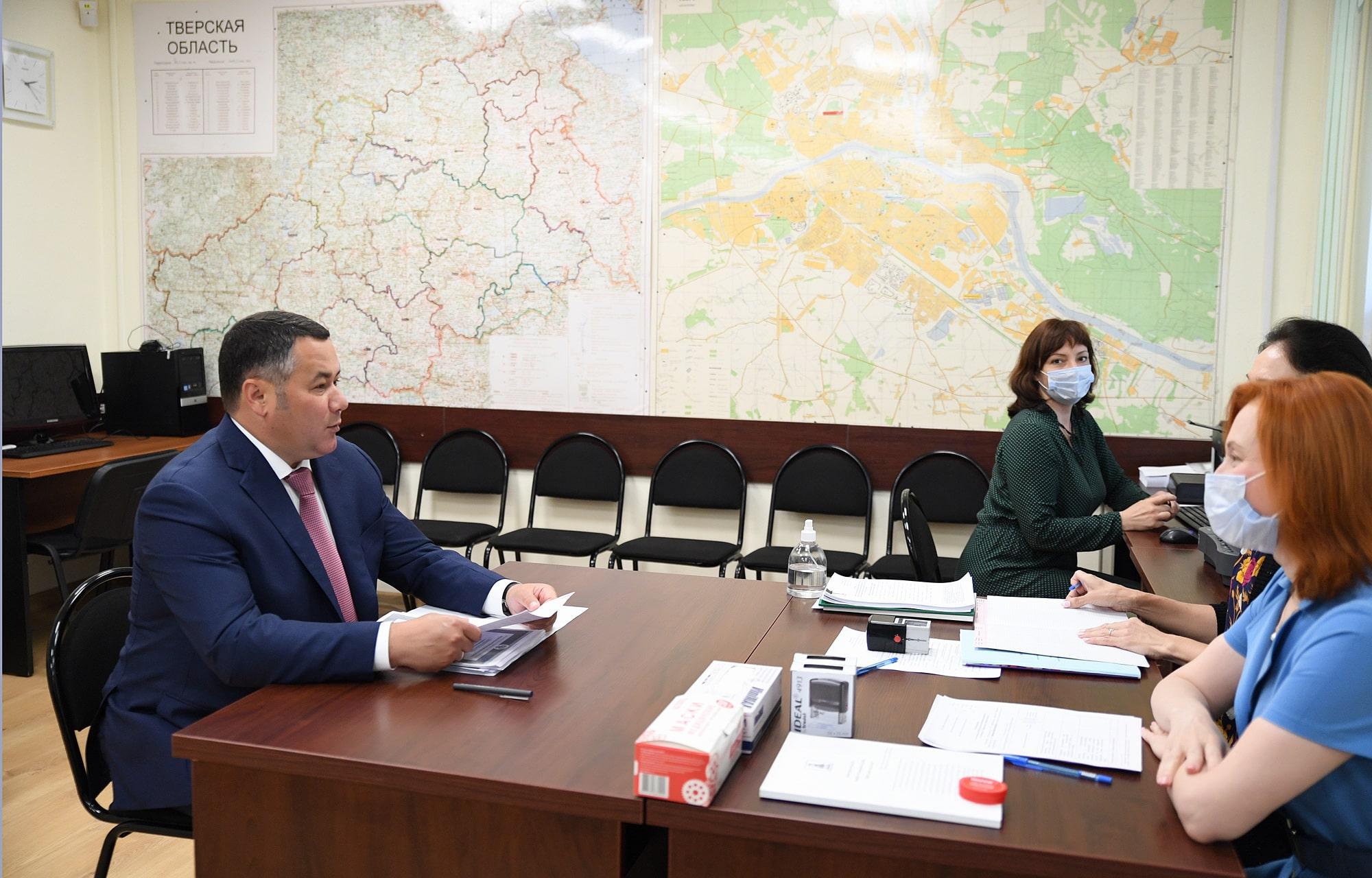 Игорь Руденя подал документы для участия в выборах губернатора Тверской области