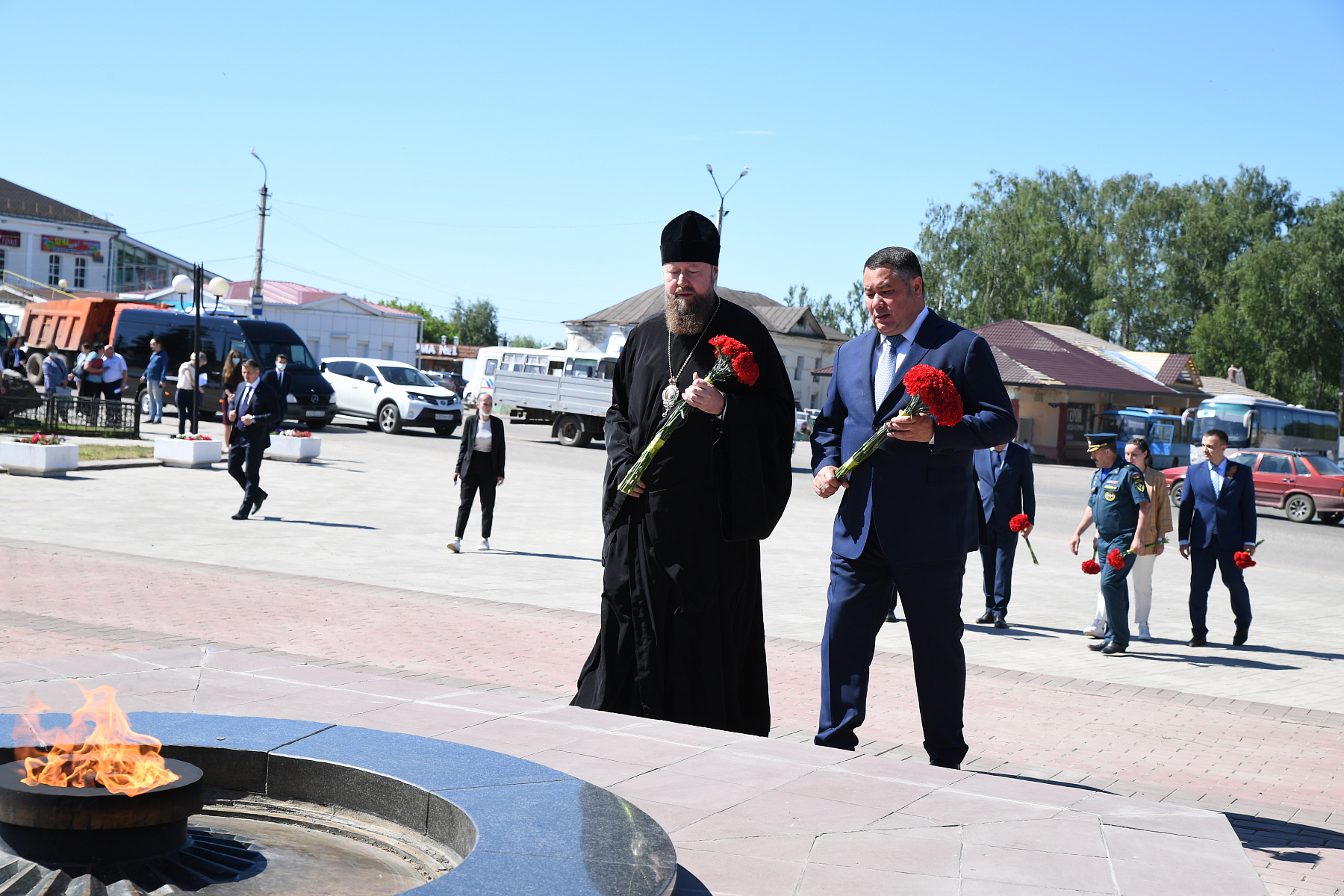 Губернатор Тверской области прибыл в Бежецк с рабочим визитом