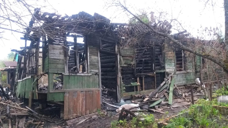 Житель Тверской области спалил дом знакомого москвича
