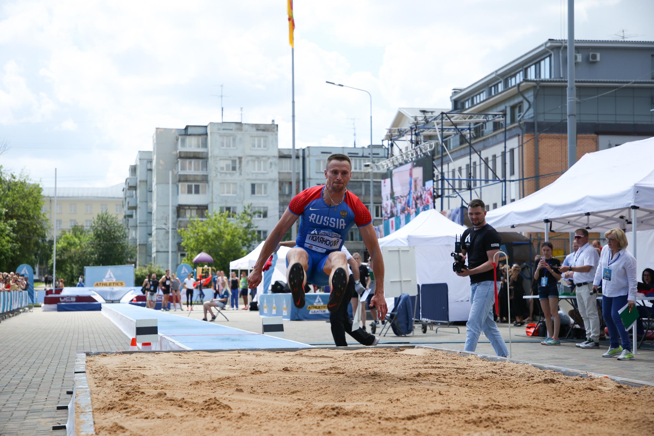 Прямо на улицах Твери прыгали чемпионы мира и Европы