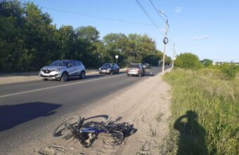 Пьяный водитель без прав сбил велосипедиста в Твери