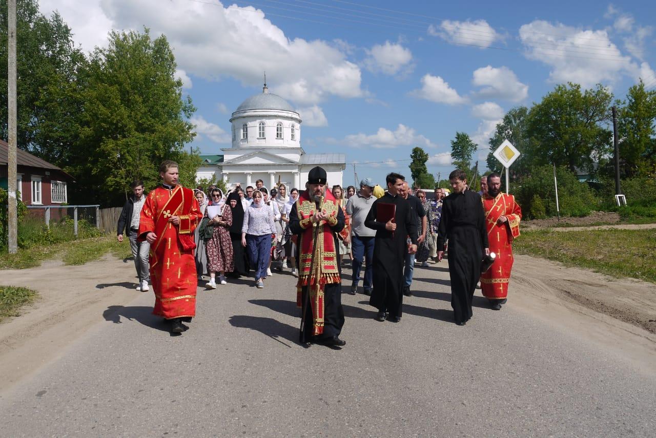 В Тверской области проходит Крестный ход в честь целителя, пророка и подвижника