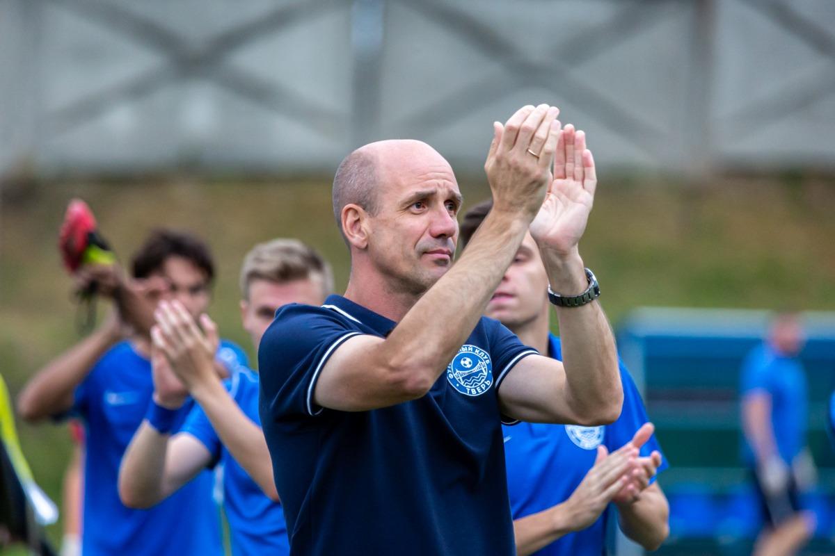 Главного тренер ФК «Тверь» признали лучшим в Профессиональной футбольной лиге