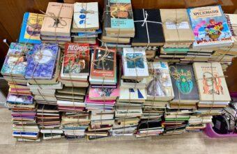 Сельские библиотеки получили 400 книг от жителей Твери
