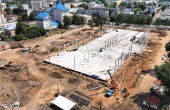 """В Твери начали строить главное здание мультимедийного парка """"Россия - моя история"""""""