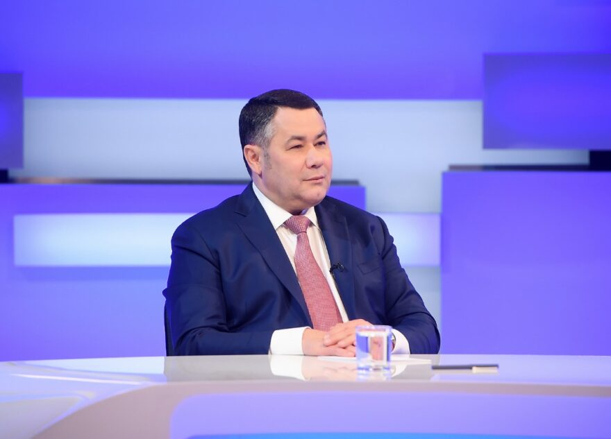 Вакцины, выборы и праздники: 10 июня губернатор Игорь Руденя выйдет в прямой эфир